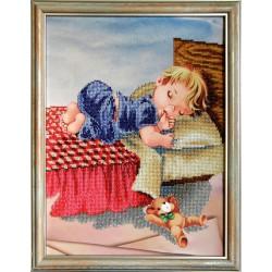"""""""Słodki sen"""", Zestaw do haftowania koralikami, Art. SD-09"""