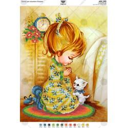 """""""Modlitwa dziewczynki"""" Art. A3 222"""