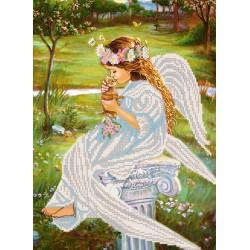 """""""Pocałunek anioła"""", Zestaw do haftowania koralikami"""