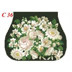 Zestaw do haftowania torebki Art. C-36