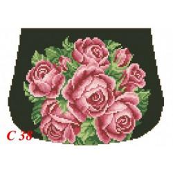 Zestaw do haftowania torebki Art. C-38