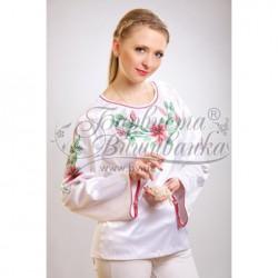 Zestaw do haftowania bluzki damskiej Art.002 biała