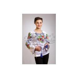 Zestaw do haftowania bluzki damskiej Art.014 biała