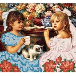 """""""Dziewczynki za herbatką"""" Art. RKP 048"""