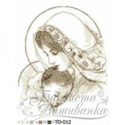 """""""Maryja z Dzieciątkiem"""" Art.TO 012 25cmx35cm"""