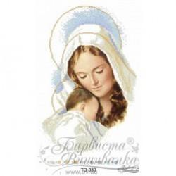 """""""Maryja z Dzieciątkiem"""" Art. TO 030 30cmx45cm"""