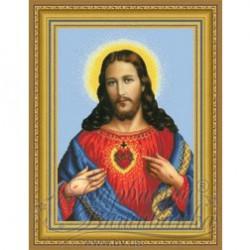 """Serce Jezusa"" Art. TO 086 31cmx43cm"