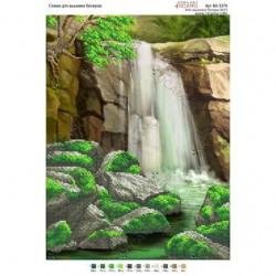 """Wodospad"" Art. BK 3379 27cm.x 36cm."