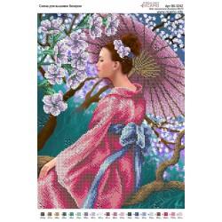"""Japonia"",Art. BK 3242, 27cm.x36cm."