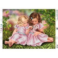 """""""Siostry"""" Zestaw do haftowania koralikami Art. A3 210"""