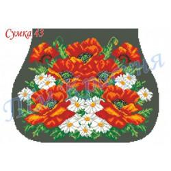 Zestaw do haftowania torebki Art. C-43