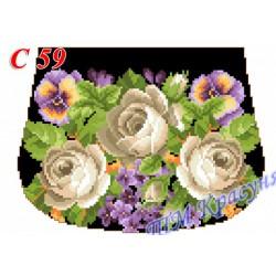 Zestaw do haftowania torebki Art. C-59