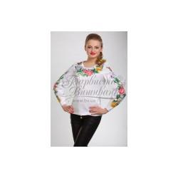 Zestaw do haftowania bluzki damskiej Art.026 czarna