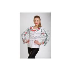 Zestaw do haftowania bluzki damskiej Art.050 biała