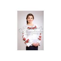 Zestaw do haftowania bluzki damskiej Art.003 biała
