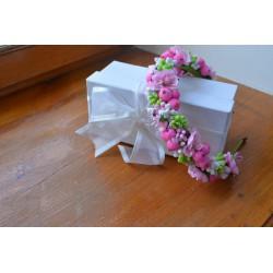Opaska z kwiatów