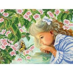 """""""Wpatrzona w motyla"""" Art. РКП-597"""