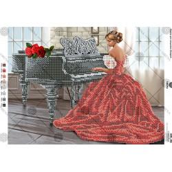 """""""Kobieta przy fortepianie"""" Art. A3 161"""
