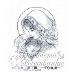 """""""Maryja z Dieciątkiem"""" Art. TO 018 20cmx25cm"""